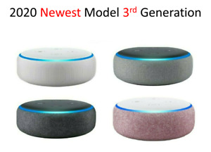 Amazon Echo Dot 3rd Gen   Sandstone Charcoal Gray Plum