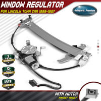 Power Window Regulator with Motor for Lincoln Town Car 1993-1997 Front Right RH