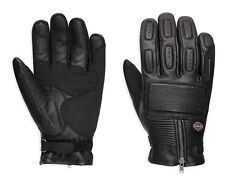 Harley-Davidson Miler Leder Handschuhe Gr. XL - Schwarz, Leather Gloves