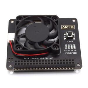 Argon FAN Hat für Raspberry Pi Lüfter Pin Pins Steckerleiste Platine