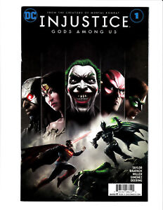 Injustice: Gods Among Us #1 DC 2017 VF/NM 9.0 Jheremy Raapack cover.