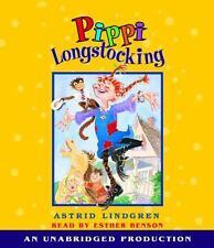 Pippi Longstocking by Astrid Lindgren (2007, CD, Unabridged)