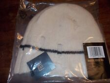 FRYE WOMENS UNRAVEL STITCH HAT IVORY NEW IN PACKAGE $98 MERINO & CASHMERE