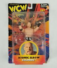 Goldberg Atomic Elbow 1998 WCW Action Figure WWE WWF New In Packaging