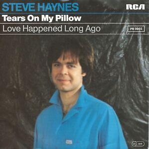 "Steve Haynes - Tears On My Pillow (7"" RCA Single Schallplatte Germany 1982)"