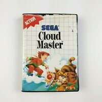 Cloud Master | Sega Master System SMS PAL | Aus Ozisoft Soft Clamshell Release