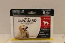 Sentry Capguard Nitenpyram Oral Flea Treatment Tabs Dogs Over 25 lbs EXP 02/20