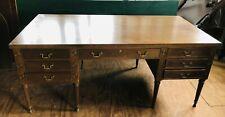 Kittinger Mahogany Executive Desk