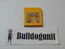 Pokemon Yellow Special Pikachu Edition GBC Nintendo Gameboy Color Game Boy