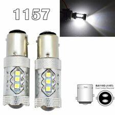 Rear Signal 1157 2057 2357 3496 7528 BAY15D P21/5W 80W LED White M1 MAR