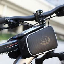 ROSWHEEL Cycling Bicycle Bike Front Pannier Double Saddle Bag phone Holder Safty
