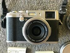 Fujifilm FinePix X Series X100 12.0MP Digital Camera - Silver