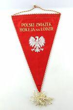 #e6404 Bunting from Poland 1962-1963 Polski zwiazek hokeja na lodzie