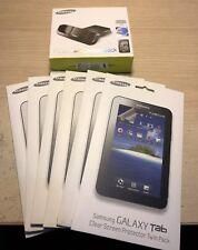 Samsung Galaxy Tab Desktop Dock Hdmi 1080p y 6 paquetes (12) claro Protector de pantalla