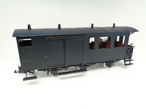 LGB Spur G Personenwagen 3achs. Gepäckabteil Metallräder Eigenbau LA8906 o.