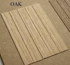 OAK DOLLS HOUSE FLOORBOARDS.HARDWOOD FLOORING.DOLLHOUSE FLOOR BOARDS,6 TYPES.