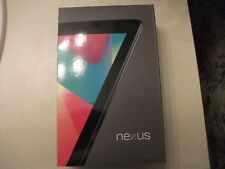 Nexus 7  16GB, Wi-Fi, 7in - Black,  Mint Condition - Collectors Condition
