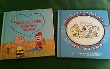 Charlie Brown Bks (Lot 2..HB) Charlie Brown's All-Stars, You're in Love, Charlie