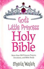 GOD'S LITTLE PRINCESS BIBLE -New King James Version -NKJV Children's Bible