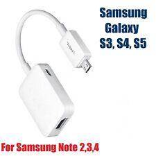 1080p MHL A HDMI Adattatore HDTV TV Micro USB per Galaxy S5 S4 S3 Note 2 3 4 BIANCO
