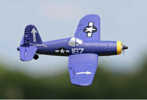RC Plane: F4U Corsair 400 Ready To Fly 4-Ch RC Plane with Flight Stabilisation