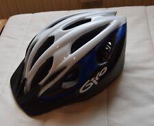 Kinder Fahrrad Helm | Schwarz, Weiß, Blau