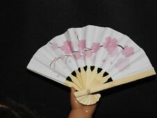 Mini Fan Cherry Blossom 18 in Doll Clothes Accessory Fits American Girl