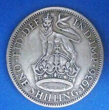 One Shilling de plata la India Britànica de 1936