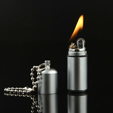 Fire Starter Waterproof Survival Emergency Camping Capsule Key Chain Lighter New