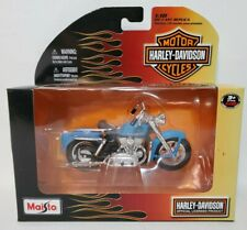 Maisto 1952 Harley Davidson Motorcycle 1:18 Die-Cast NIB 2010