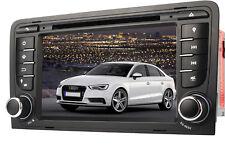 """7"""" Autoradio DVD Player GPS FÜR AUDI A3 2003-2011 Navigation USB Bluetooth 3G"""