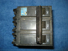 General Electric Triple Ploe 30 Amp Breaker