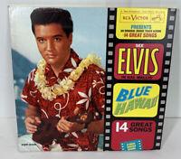 Elvis Blue Hawaii Blue LP Colored Vinyl Record