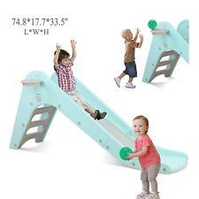 Kids Sports Climber and Slide Indoor Outdoor Play Slide Freestanding Playset