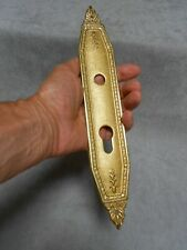 FRENCH Vintage Brass bronze STYLISH Door Finger Plate