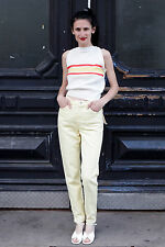 Mustang Super Tight Damen Jeans Hose pants gelb yellow 90er True VINTAGE 90´s