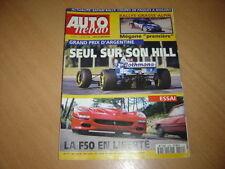 Auto hebdo N°1029 Ferrari F50.Saxo Cup.Schnitzer