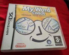 My Word Coach Develop Your Vocabulary NINTENDO DS Game DSi 3DS 2DS XL GAME
