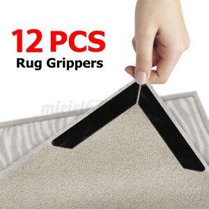 6 Pcs PU Rug Grippers Mat Non Grippers nti Slip Rubber Grip Skid Carpet Tape