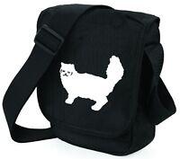 Cat Bag Mini Reporter Persian Cat Shoulder Bags Persian Cat Xmas Birthday Gift