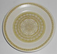 Franciscan Pottery Hacienda Green Bread Plate