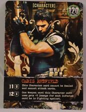 Chris Redfield Resident Evil Bandai DBG Deck Building Game Promo Card!