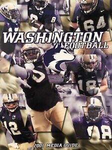 2001 UNIVERSITY of WASHINGTON HUSKIES Football - Media Guide - UW Huskies