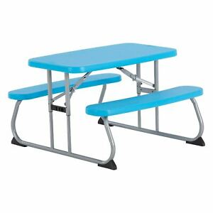Lifetime Kid's Picnic Table, Blue