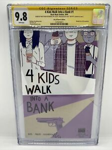 4 KIDS WALK INTO A BANK #1 CGC 9.8 SS ROSENBERG (Wondercon Exclusive variant)