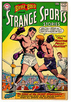 BRAVE AND THE BOLD #47 7.0 OFF-WHITE PAGES SILVER AGE STRANGE SPORTS
