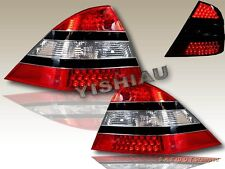 00-05 Mercedes Benz W220 S-CLASS LED RED CLEAR TAIL LIGHTS REAR LAMP ASSEMBLY