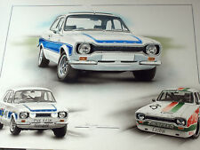 Ford Escort RS2000 RS1600 Gerry Marshall Heyer Arte