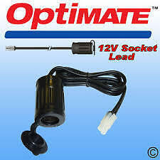 TM68 OptiMate 12V Weatherproof Motorcycle Accessory Socket  cigarette lighter