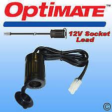 TM68 OptiMate 12V Weatherproof Motorcycle Accessory Socket  cigarette lighter